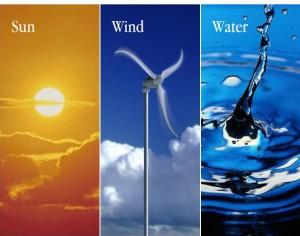 Sun-Wind-Water